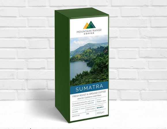 Mountain Range Sumatran Filter Coffee