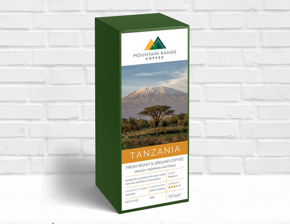 Mountain Range Tanzanian Filter Coffee