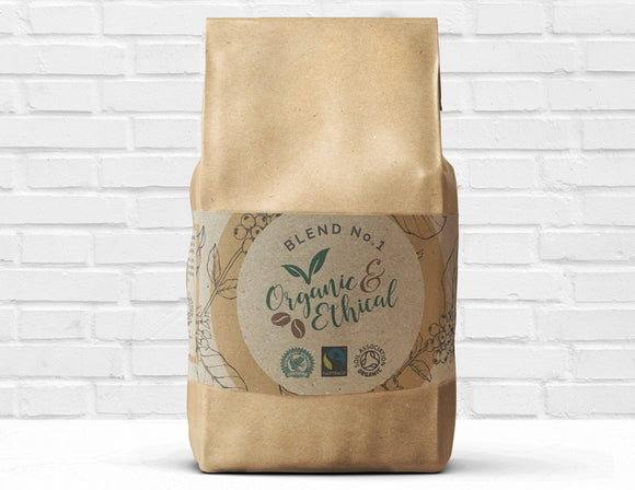 Organic & Ethical Whole Beans 1kg Best Coffee UK