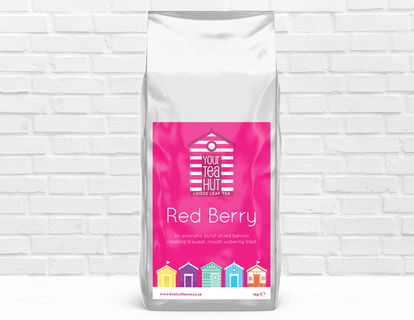 Your Tea Hut Red Berry Loose Leaf Tea Best Coffee UK