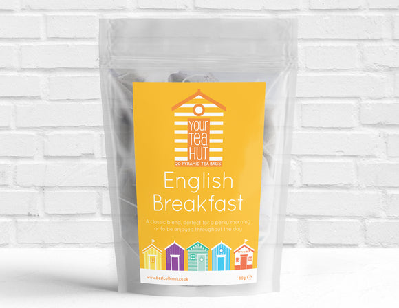 Your Tea Hut English Breakfast Pyramid Tea Best Coffee UK