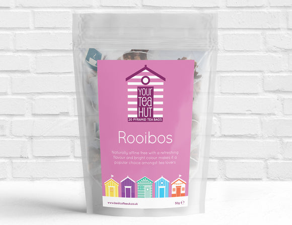 Your Tea Hut Rooibos Tea Pyramid Tea bags Best Coffee UK