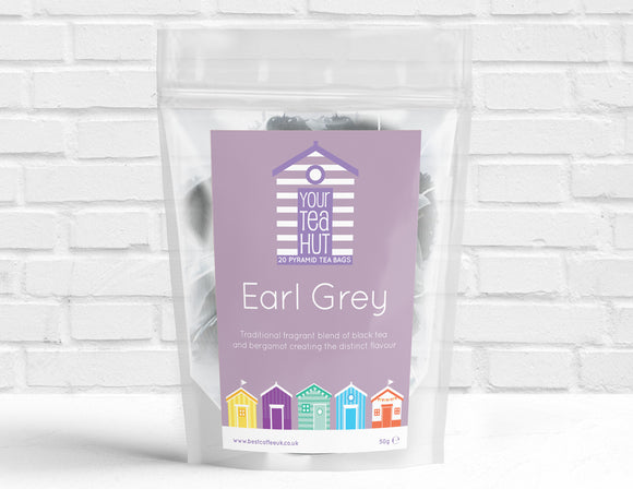 Your Tea Hut Earl Grey Pyramid Tea Best Coffee UK