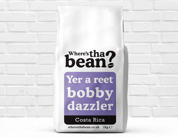 Where's Tha Bean - Reet Bobby Dazzler Costa Rica Coffee Beans 1Kg Best Coffee UK
