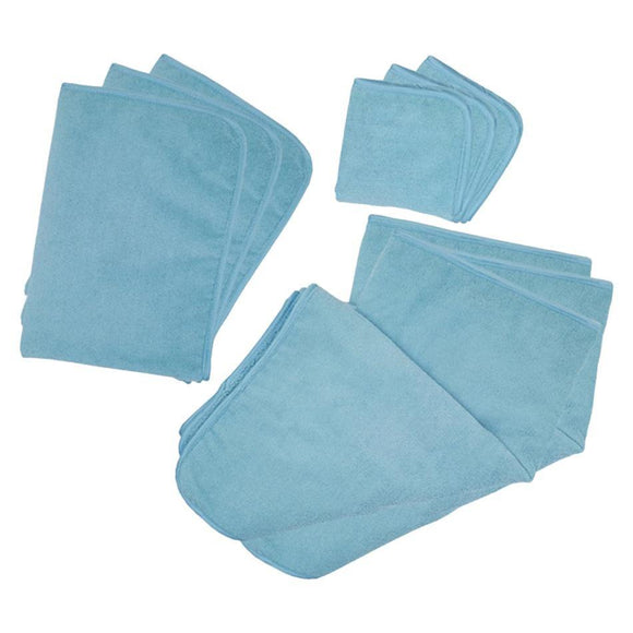 9-Piece Premium Microfiber with Satin Trim