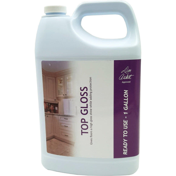 Don Aslett's Top Gloss Gallon- Gives Floors A High Gloss Shine While Adding Protection - Don Aslett