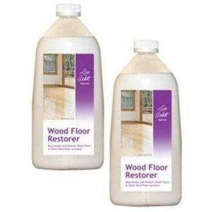Don Aslett's Wood Floor Restorer 2 Pack – Brings Back The Shine Of Your Hardwood Floors