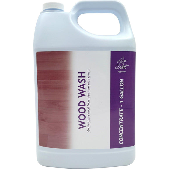 Don Aslett's Wood Wash Gallon - Gently Cleans Wood Floors, Furniture And Cabinets