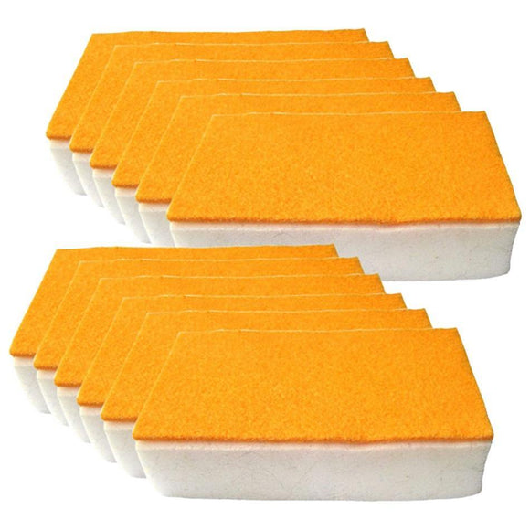 12-Piece Scrub N Wipe Sponge Set