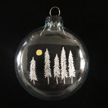 Load image into Gallery viewer, SILVER FOREST ORNAMENT