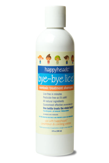 Happyheads@ Bye-Bye Lice® Treatment Shampoo to kill lice
