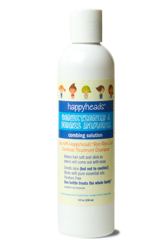 Happyheads® Conditioning & Combing Solution for easing the remain of lice and nits