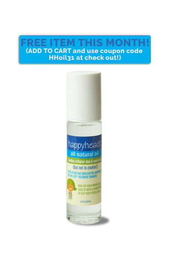 Happyheads® All Natural Roll-On Oil, 0.3 oz.
