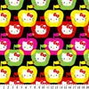 Anti-Pill Hello Kitty Apples Fleece F42