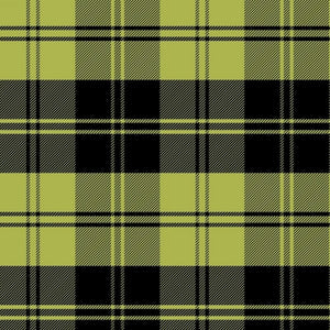 Premium Anti-Pill Double Take Plaid Chartruese Fleece F1391