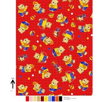Anti-Pill Play Bears Fleece F970