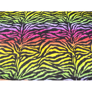 Zebra Rainbow Fleece F883