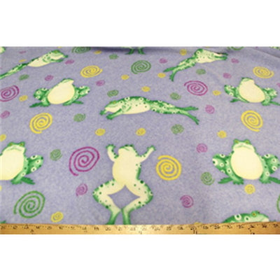 Anti-Pill Frogs Fleece F1081