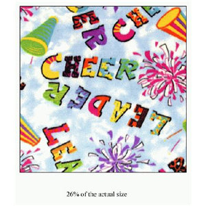 Anti Pill Cheerleader Rainbow Fleece F725