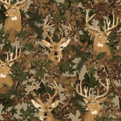 Premium Anti-Pill Deer Camo Fleece F443