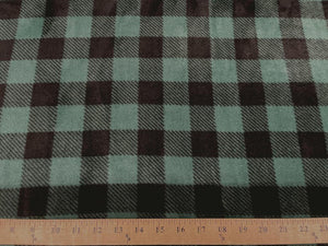 Premium Anti-Pill Buffalo Plaid Hunter Fleece 606