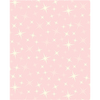 Anti-Pill Glittering Star Lt Pink Fleece F662