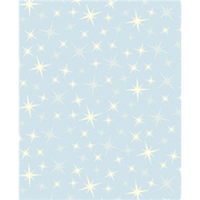 Anti-Pill Glittering Star Lt Blue Fleece F661