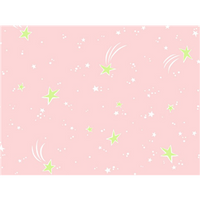Anti-Pill Shooting Stars Pink Fleece F636