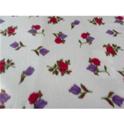 Tulip Rose Lavender Red Fleece F737