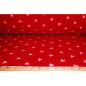 Small Red Star Fleece F670