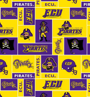 Premium Anti-Pill East Carolina University Fleece B162