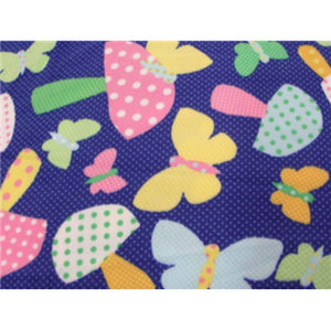 Anti Pill Polka Dots Butterfly Fleece F383