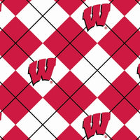 Anti-Pill Wisconsin Argyle Fleece F264