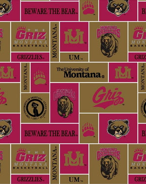 Premium Anti-Pill Montana University Fleece B428
