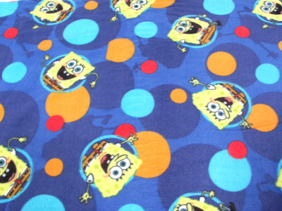 Anti-Pill Sponge Bob Fleece F19