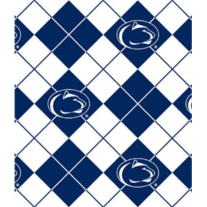 Anti-Pill Penn State Argyle Fleece F1115