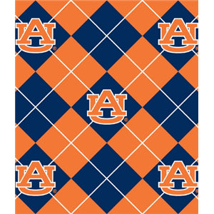 Premium Anti-Pill Auburn Argyle Fleece B640