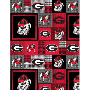 Premium Anti-Pill Georgia Bulldogs Fleece B660