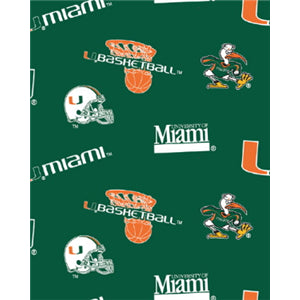 Premium Anti-Pill Miami, University Of Fleece B677