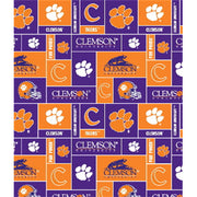 Premium Anti-Pill Clemson University Fleece B679