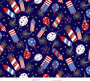 Premium Anti-Pill 4TH Of July Celebration Fleece F1426