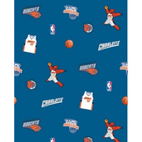 Anti-Pill Charlotte Bobcats Fleece F286