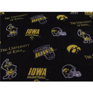 Premium Anti-Pill Iowa, University Of Fleece B344