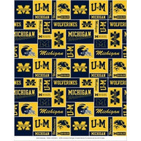 Premium Anti-Pill Michigan, University Of Fleece B348