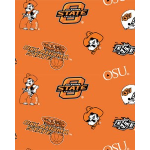 Anti-Pill Oklahoma State University Fleece F221
