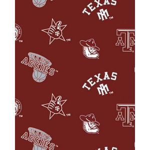 Anti-Pill Texas A&M Fleece F248