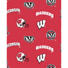 Anti-Pill Wisconsin University Fleece F274
