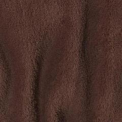Dark Brown Minky Spa Fleece