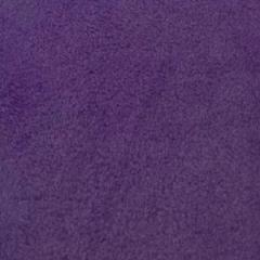 Dark Purple Solid Fleece