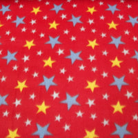 Stars Red Fleece F650